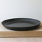 Wheel Thrown Stoneware Platter Black