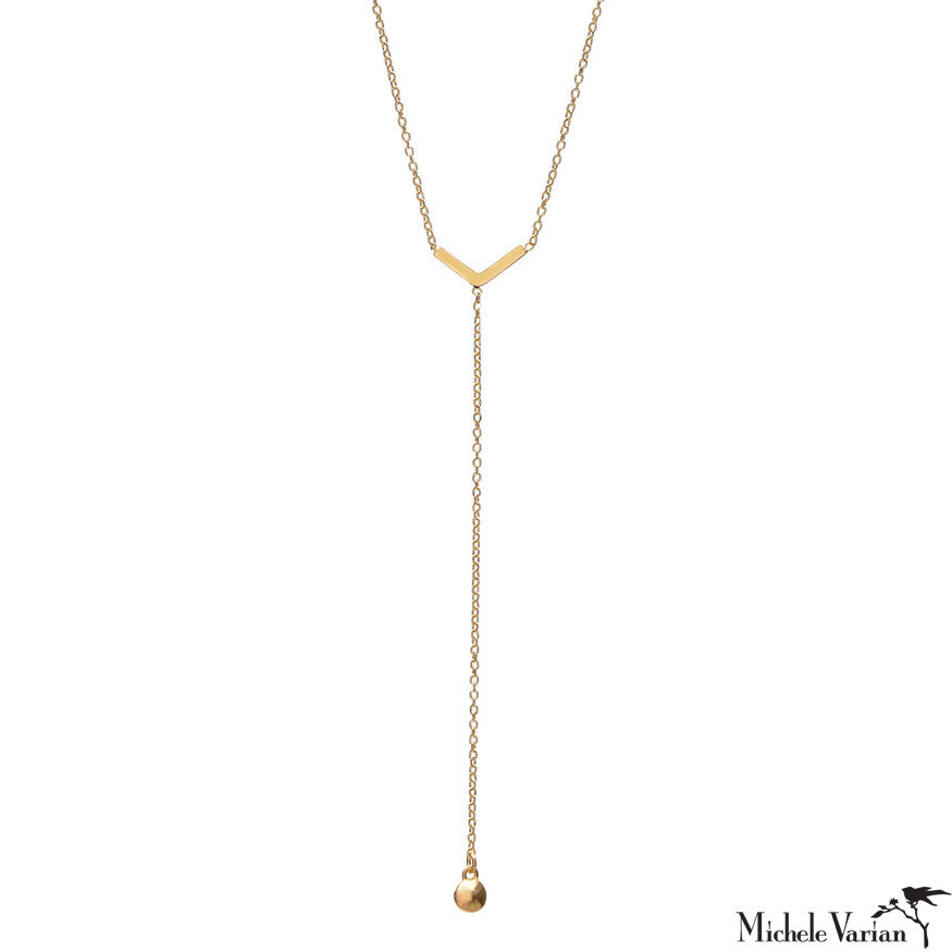 Arrow Lariat Necklace