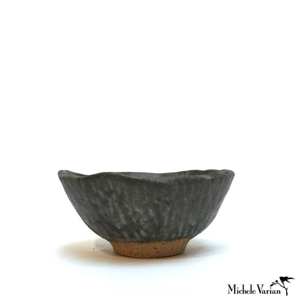 Ash Glaze Tiny Clay Bowl
