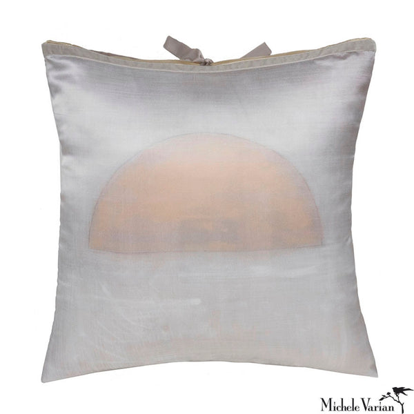 Silk Print Pillow Balance Study No 3 20x20