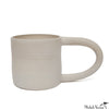 Large Handled Mug White