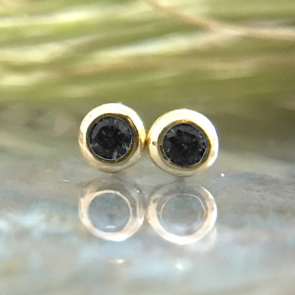 Black Diamond Studs