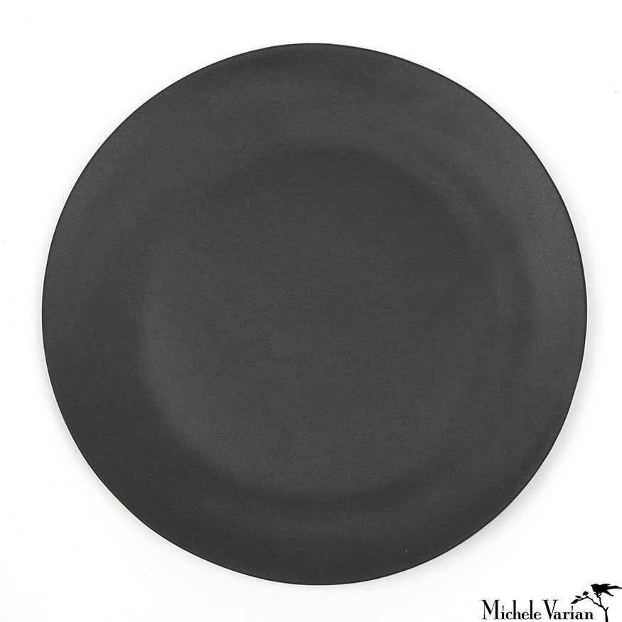 Matte Porcelain Dinner Plate Black Set of 4  sc 1 st  Michele Varian & Matte Porcelain Dinner Plate Black Set of 4 \u2013 Michele Varian Shop