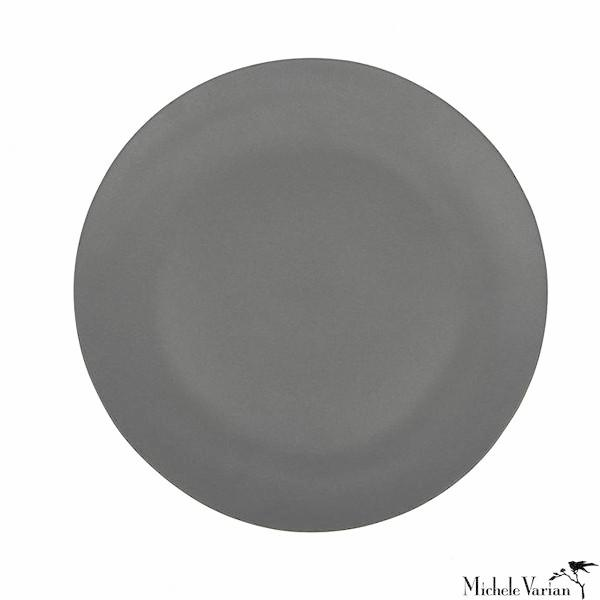 Matte Porcelain Side Plate Grey Set of 4