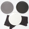 Matte Porcelain Dinner Plate Black Set of 4