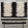 Black and White Wool Rug
