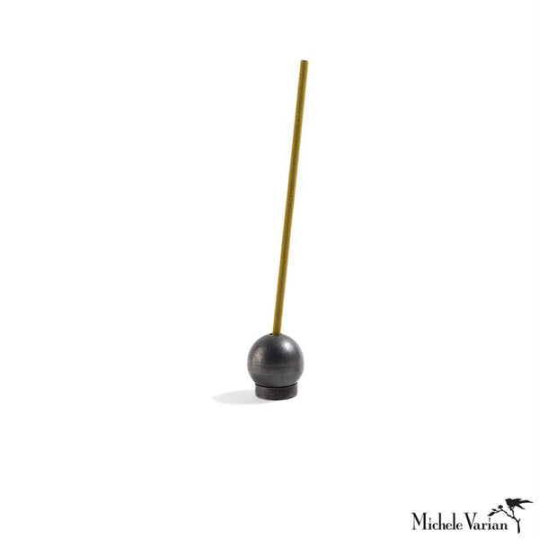 Blackened Brass Incense Holder