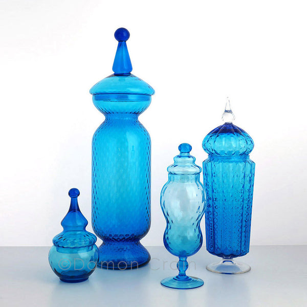 Empoli Glass Blue Group 3