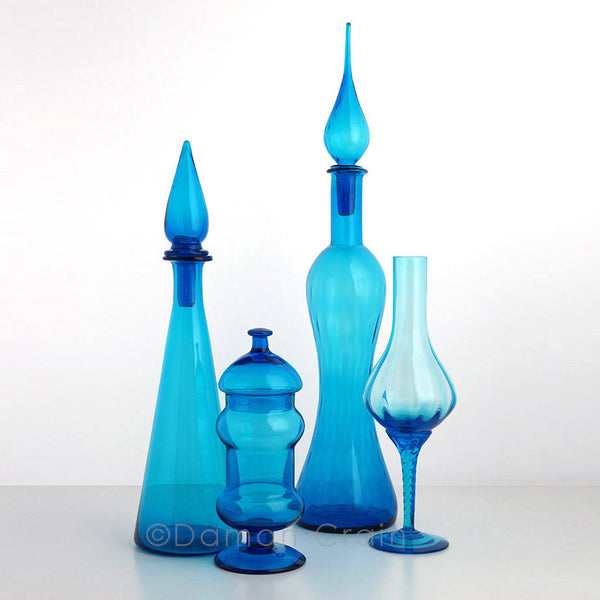 Empoli Glass Blue Group 4