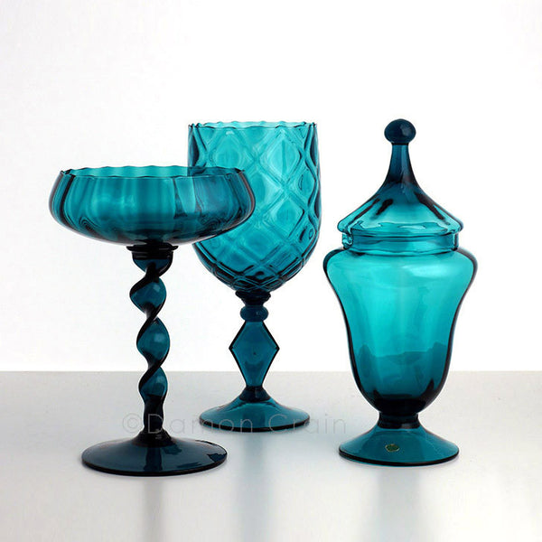 Empoli Glass Blue Group 5