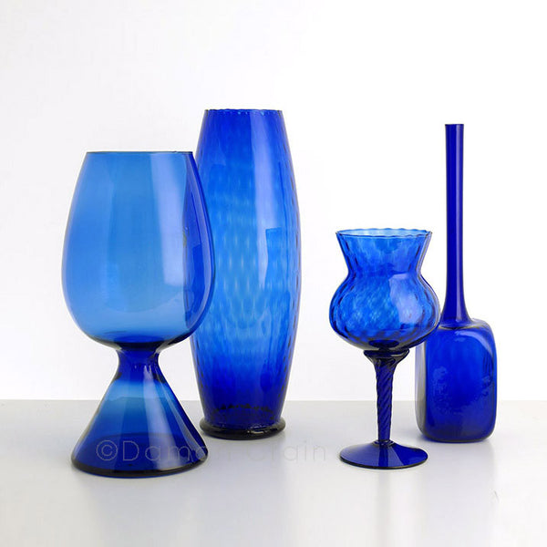 Empoli Glass Blue Group 7
