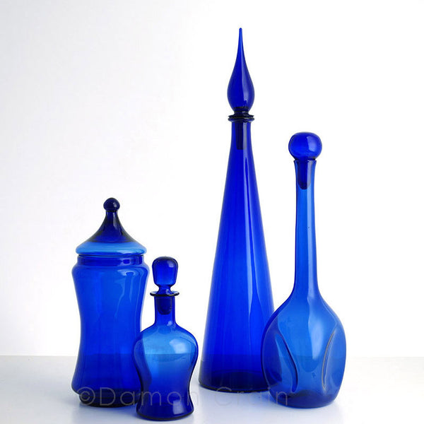 Empoli Glass Blue Group 8