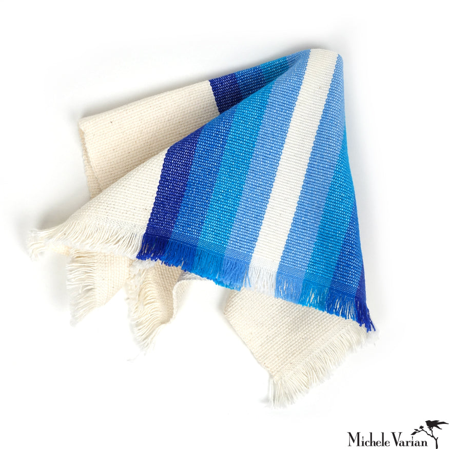 Blue Stripes Napkin