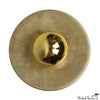 Discus Flush Mount Brass 8 inch Sconce Light