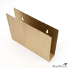 Brass Rectangular Wall Rack