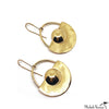 Brass Michele Earrings