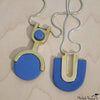 Blue Vos Necklace