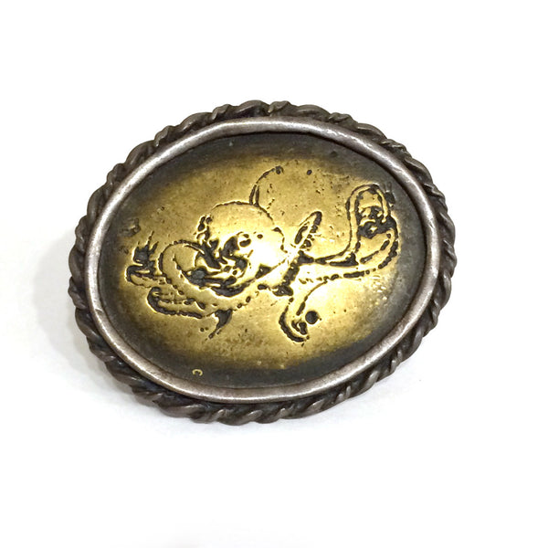 Octopus Shield Ring