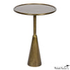 Brass Finish Tray Table