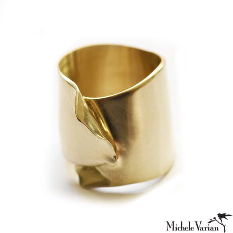 Brass Wrapped Ring