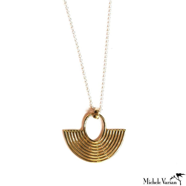 Brass Cast Necklace