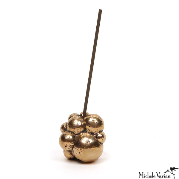 Bronze Bubble Incense Holder