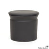 Matte Black Butter Jar
