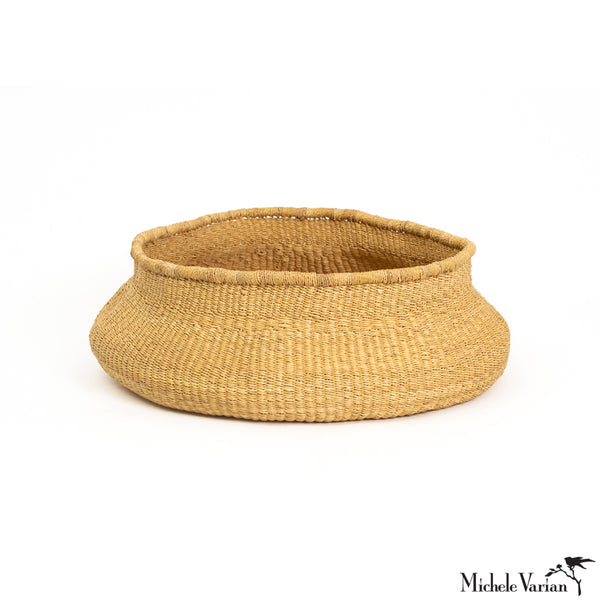 Large Belly Elephant Grass Basket