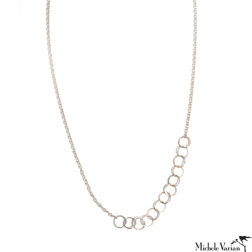 Sterling Silver Asymetrical Links Chain