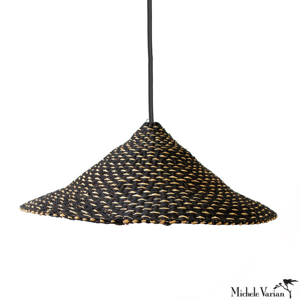Black Grass Flair Pendant Light Shade
