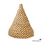 Natural Woven Rafia Pendant Light