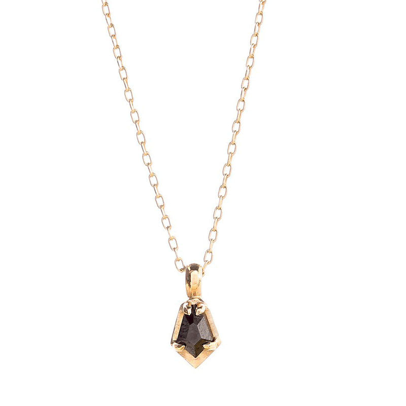 Black Diamond Scarab Necklace