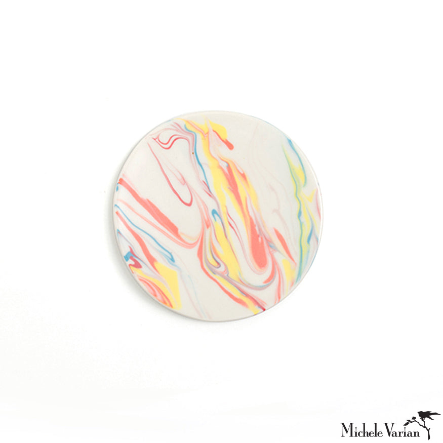 Candy Marbled Porcelain Mini Dish