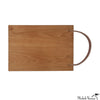 Leather Strap Cutting Board Cherry 12x18