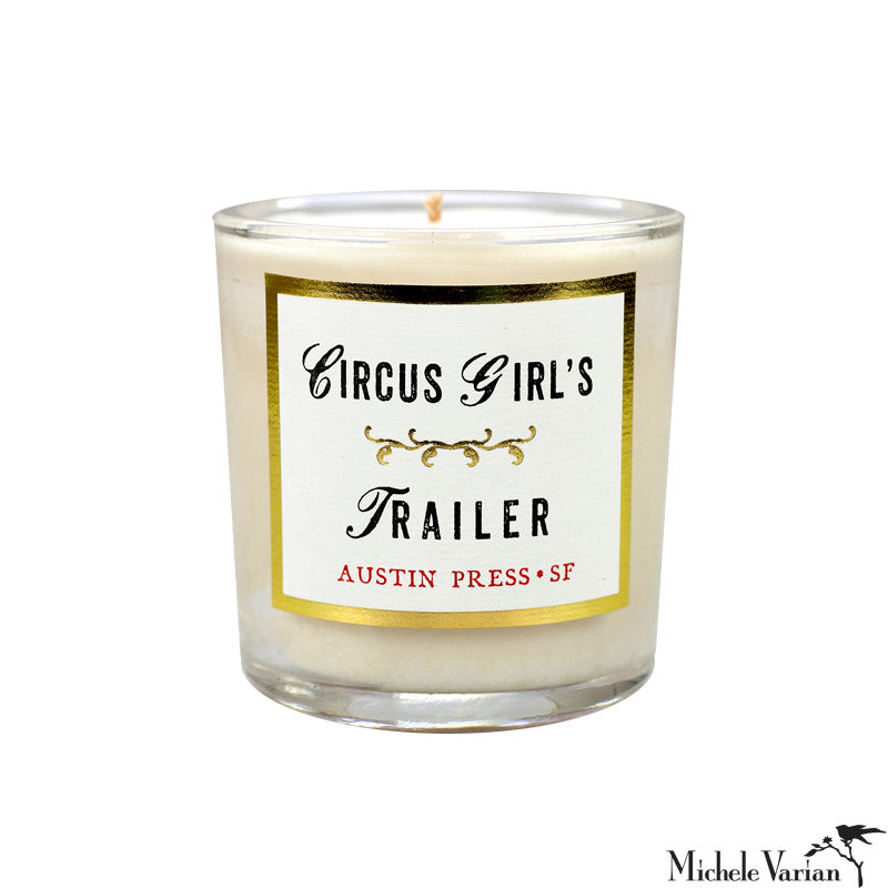 Circus Girl's Trailer Candle