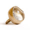 Bronze Quartz Ring