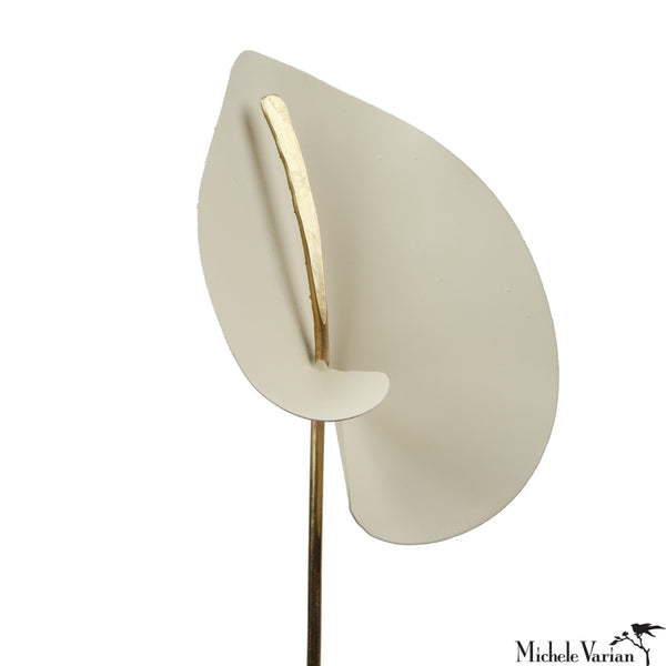 Brass Calla Lily Cream