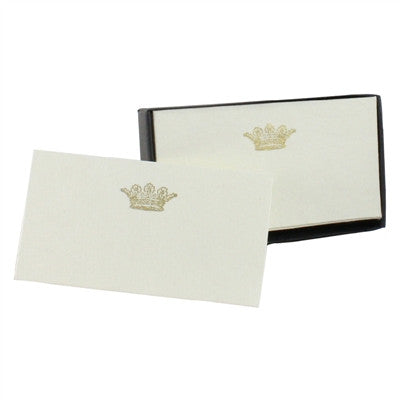 Printed Paper Cards Crown