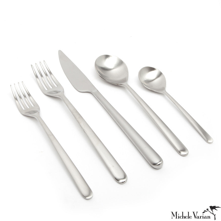 Matte Stainless Cutlery