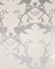 Thornbird Wallpaper Snow Silver
