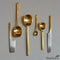 Brass Spoons Various Sizes