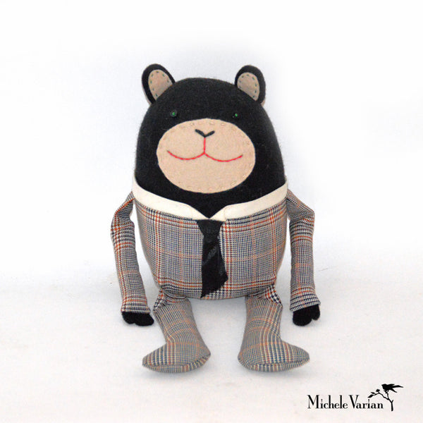 Suited Bear Doll