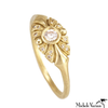 Gold Art Deco Ring