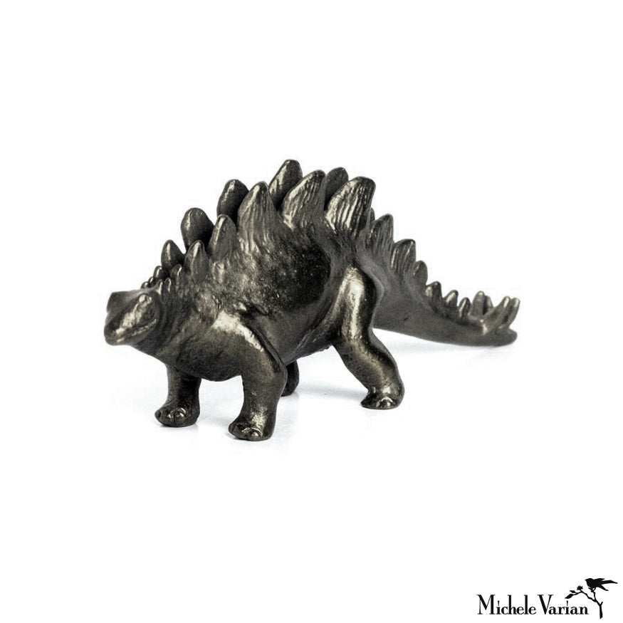 Blackened Bronze Stegasaurus