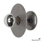 Steel 8 inch Discus Sconce Light