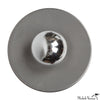 Discus Flush Mount Steel 8""