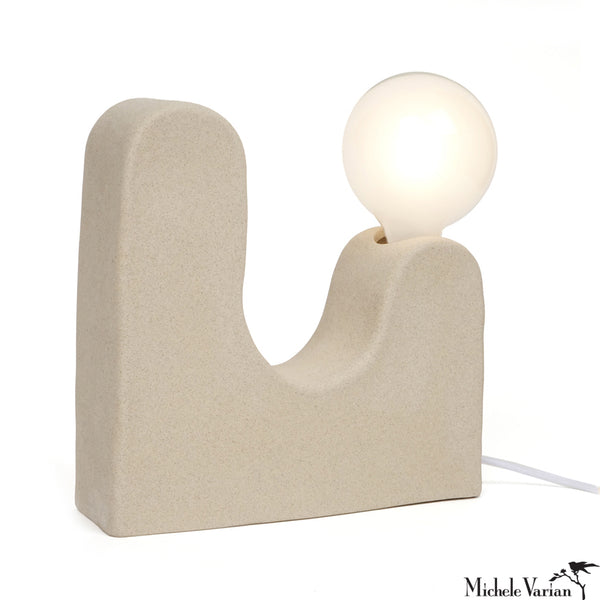 Ceramic Double Hills Lamp