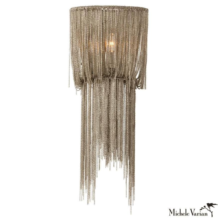 Draped Chain Sconce