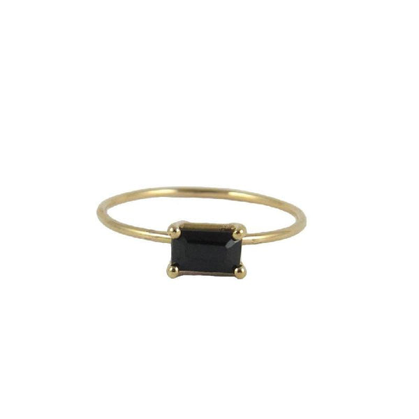 East West Onyx Ring