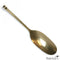 Brass Egg-Shaped Spoon